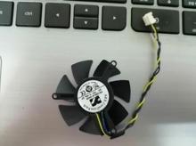 Оригинальный Gigabyte FS1250-S2053A 12 V 0.19A 3-провод вентилятора видеокарты с 4,5 см в диаметре