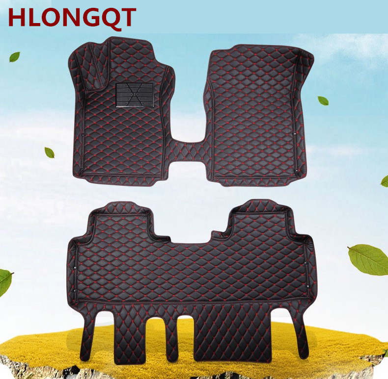 Auto Floor Mats For TOYOTA PRIUS 2016.2017.2018 Foot Carpets Car Step Mats High Quality Brand New Embroidery Leather Mats auto floor mats for honda cr v crv 2007 2011 foot carpets step mat high quality brand new embroidery leather mats