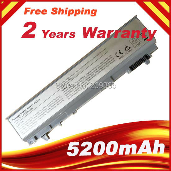 Laptop Battery For DELL Latitude E6410 E6510 E6400 E6500 M2400 M4400 M6400 PT434 W1193 KY477 U844G