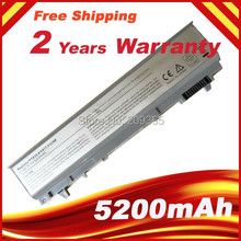 Laptop Batterij Voor DELL Latitude E6410 E6510 E6400 E6500 M2400 M4400 M6400 PT434 W1193 KY477 U844G