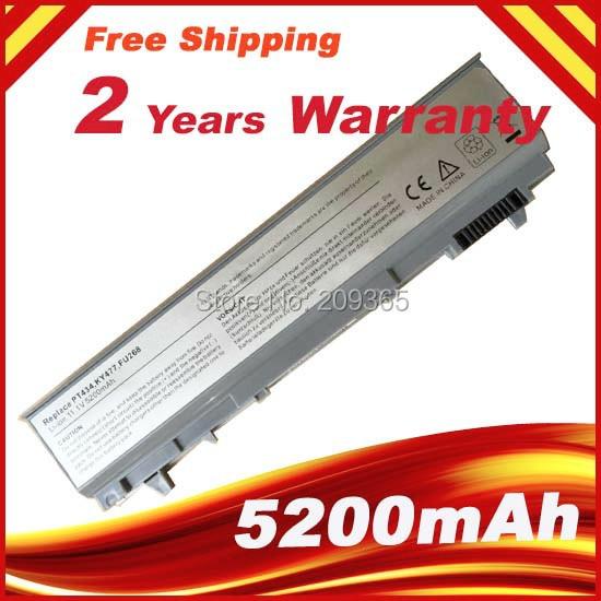 Аккумулятор для ноутбука Dell Latitude E6400 E6500 E6510 M2400 M4400 M4500 E6410 312-0917 GU715 C719R RG049 U844G TX283 0RG049