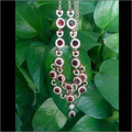 Collier Qi Xuan_fine Jewelry_luxury Natural Garnet Casamento/festa Necklaces_s925 Pedras Necklace_manufacturer Diretamente As Vendas