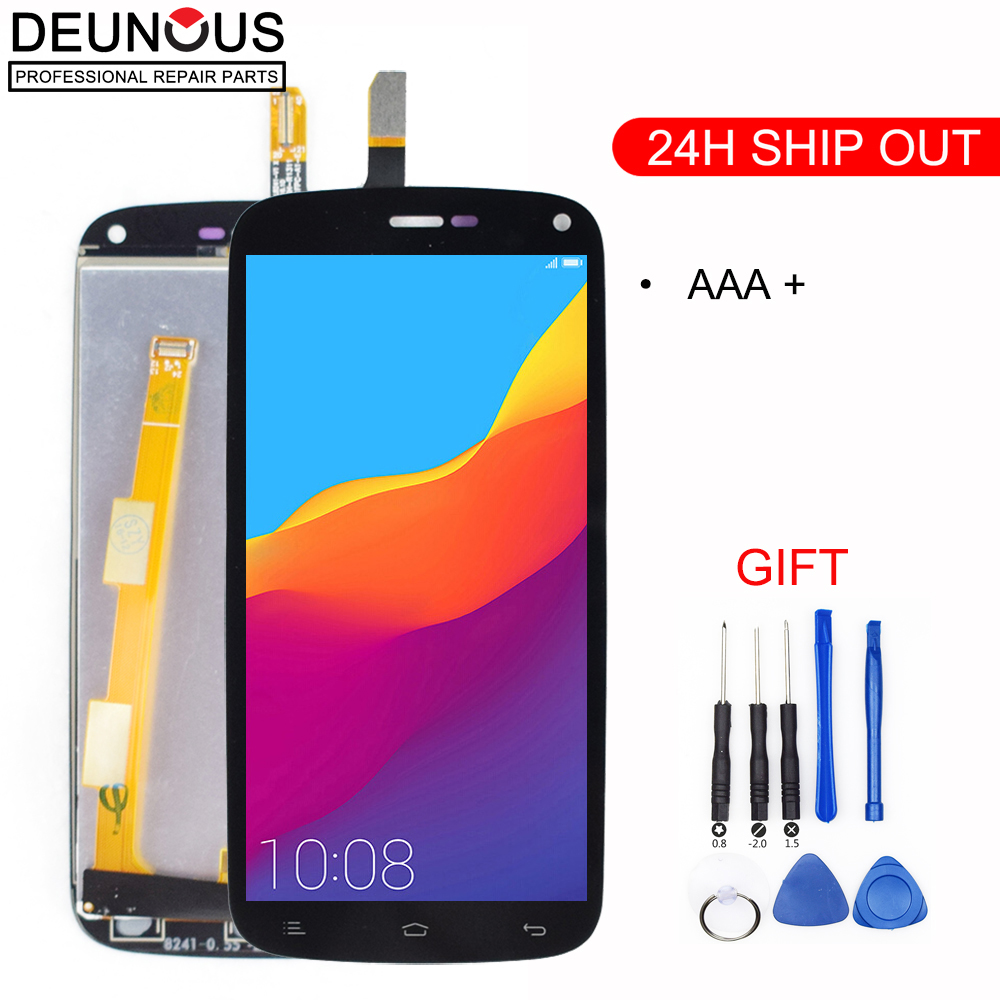 New LCD Display+Digitizer Touch Screen Assembly Replacement for Gionee ELIFE E3 & FLY IQ4410 Free tools replacement