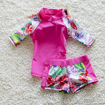 89b089aa2e 50% off. Children Swimsuit Kids Bathing Clothes Girls Flower Bikini 2018 Girls  Swimsuit ...