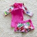 Niños Niños Traje de Baño Ropa de Baño Chicas Bikini de Flores 2017 Niñas Traje de Baño Lindo de Los Niños de Gran Tamaño traje de Baño Niños