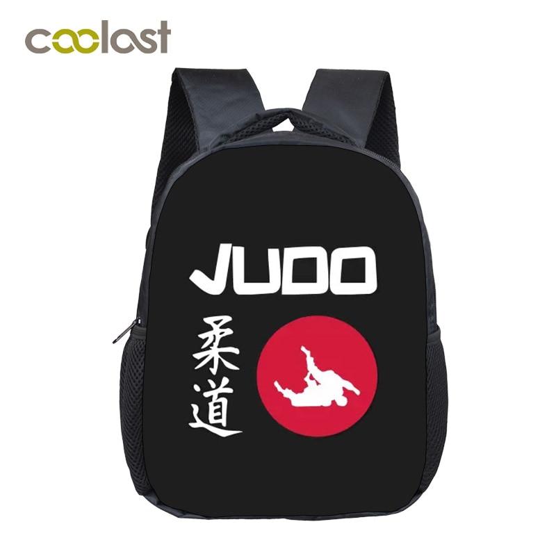 Cool Martial Art Judo / Taekwondo / Karate / Aikido Backpack For Teenage Boys Cobra Kai Book Bag Kids Small School Bags Backpack