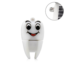Pen drive cartoon tooth usb stick pendrive 4GB 8GB 16GB 32GB 64GB cute memory stick creative gfit mini usb flash drive cle usb цена и фото