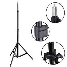 YIXIANG Free Tax to Russia New Brand Photo Studio Adjustable 2m Light Umbrella Stand with 1/4 screw head Flash Continuous Tripod