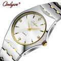 Relógios de pulso Para Mulheres Dos Homens Amantes de Relógios de Quartzo Relógio de Strass Senhoras de Aço Inoxidável Relógio de Ouro Relogio feminino Presente 8677