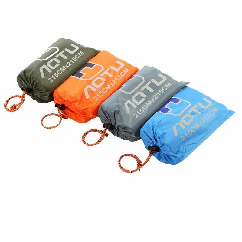 215*215 см Коврик для кемпинга водонепроницаемый открытый складной коврик для пикника свободный от песка коврик одеяло коврик для пляжа палатка Пешие прогулки с сумкой для хранения