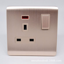 Multifunctional Socket With Lamp 13A  For British Middle East AC 110~250V
