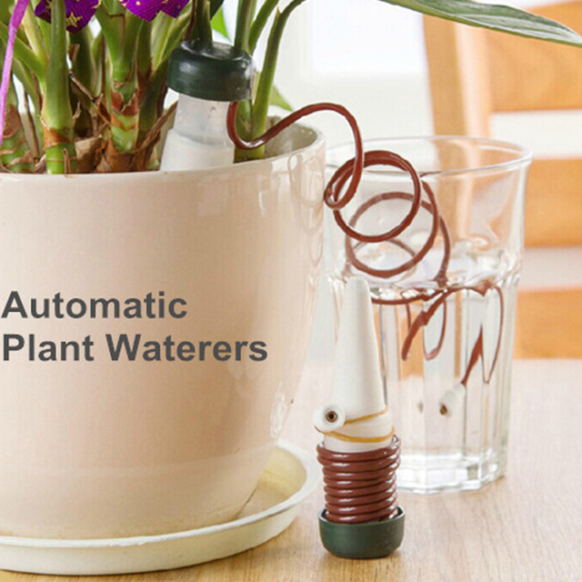 Garden tools  1 pcs Automatic plant waterer Watering potted flowers Drip irrigation device Creative