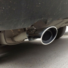 Выхлопная труба глушителя для Nissan Sentra 2012 2014 из нержавеющей стали 1 шт. бесплатная доставка