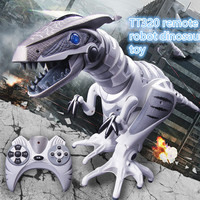 Развивающие игрушки Интеллектуальный робот динозавров игрушки удаленного управления дистанционный пульт робот игрушка для мальчика инфр