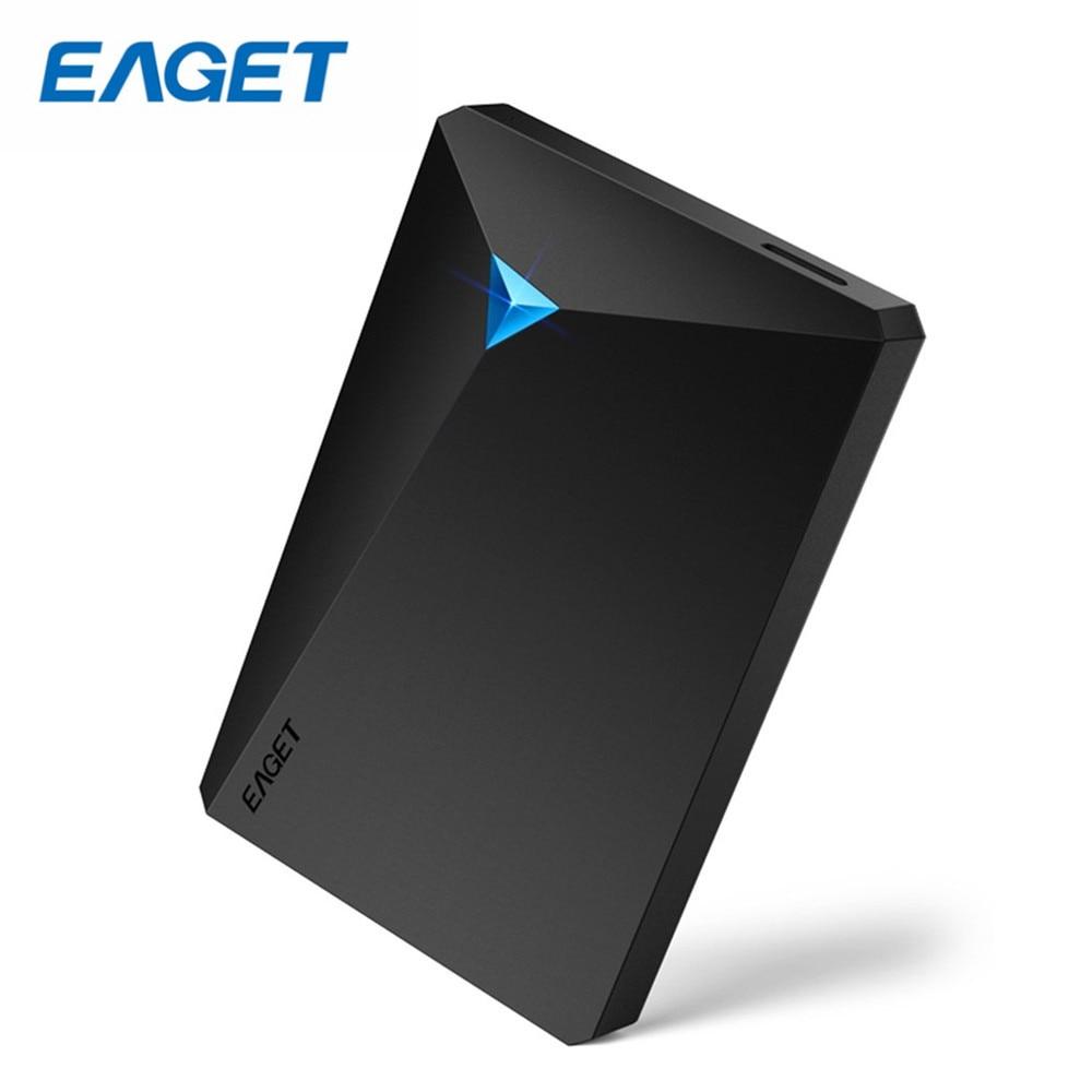 EAGET G20 Haute Vitesse USB3.0 Disques Durs 2.5 pouce 500 gb 1 tb 2 tb 3 tb Antichoc Chiffrement Complet externe Disque Dur HDD Pour PC