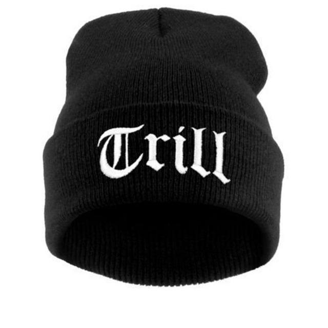 Carta sombreros para las mujeres de punto gorro slouchy beanie hat cap hombres España mujeres capó Cráneo Chunky Baggy Cap cabeza caliente