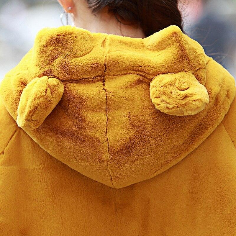 Nerazzurri χειμωνιάτικο παλτό γούνινο - Γυναικείος ρουχισμός - Φωτογραφία 5
