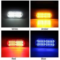 10pcs/Set Car Strobe Lights Ultra thin High Power Waterproof 12V 24V 20 LED Truck Emergency Side Strobe Warning Flashing Light