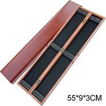 55*9*3cm Wood Float Box Fishing Wooden Bobber Buoy Buoyage Storage Case Herabuna Hera Tackle box A146