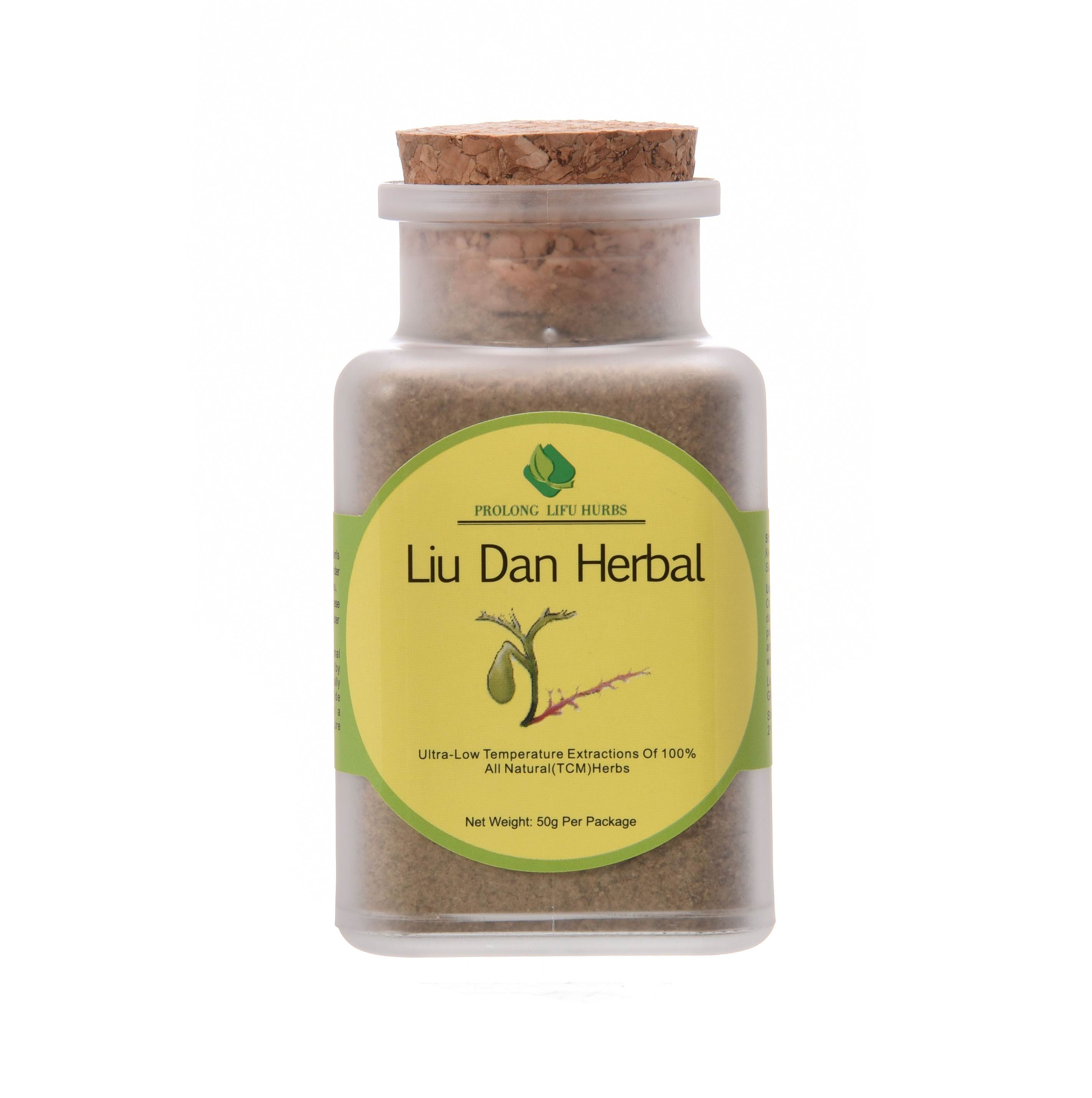 Prolong Lifu Liu Dan Herbal Cure Cholecystitis And Gallstones. Promote The Discharge Of Stones And Relief Pain