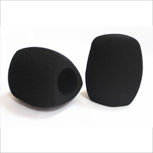 Linhuipad 40mm Hole Foam Windshields Mic Cover Sponge Windscreen for Handheld Interview Microphones 3 colors available