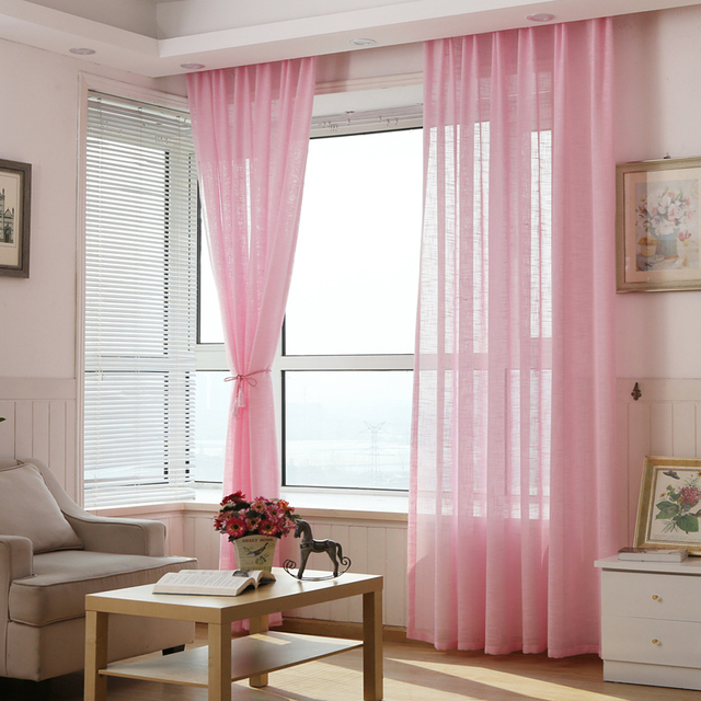 Cafe Kitchen Curtains Thickened Yarn Cortinas Living Room Drapes
