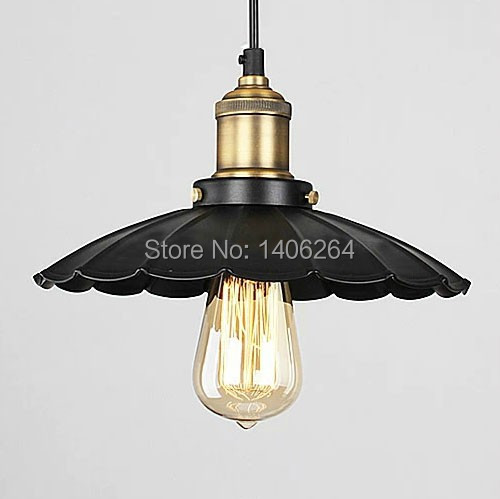 LOFT American Countryside Edison Retro Black Dress Black/White Droplight Ceiling Lamp For Cafe Bar Hall Coffee Shop Club Store loft retro tree glaze glass pendant lamp lights cafe bar art children s bedroom balcony hall shop aisle droplight decoration