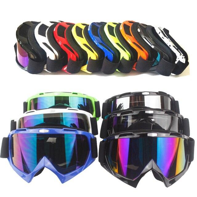 Clear Men Womens Motorbike Moto Motorcycle Glasses Goggles Windproof Motorcycle Riding Helmet Glasses For Helmet