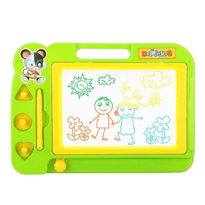 20*28cm Magnetic Drawing Board Kids Coloring Notebook Painting Toys Set Montessori Educational Toys for 3 Year Olds juguetes