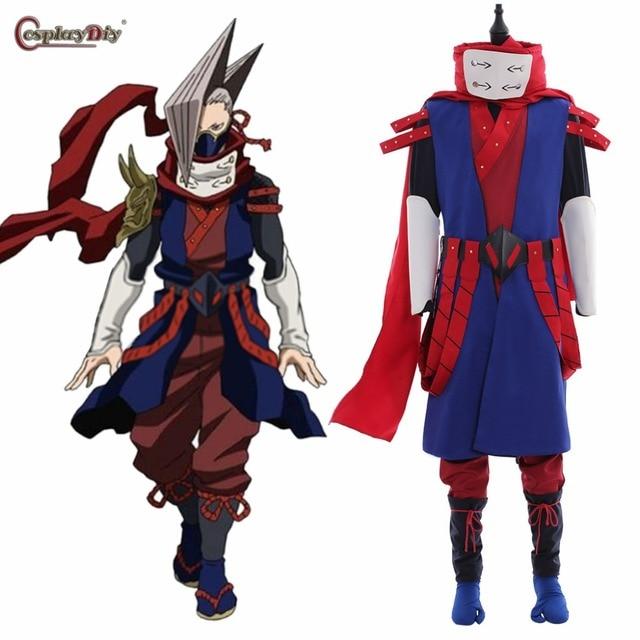 Anime My Hero Academia Boku no Hero Akademia Cosplay Shinya Kamihara Edgesh Costume Men Halloween Carnival Clothes
