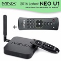 2016 MINIX NEO U1 4K  IPTV Smart  TV Box S905 Quad-core 64 Bit Streaming Media Player+A2 Lite