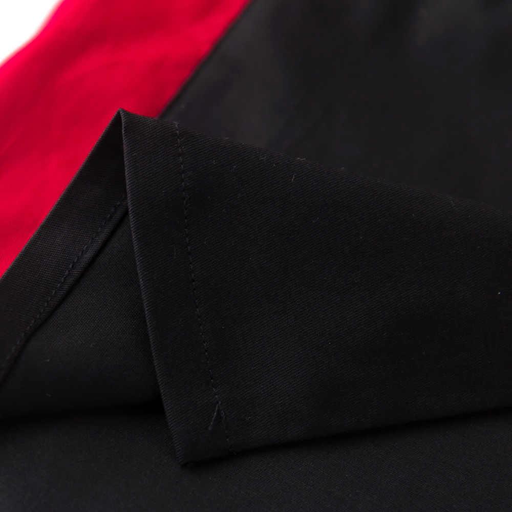 2018 хлопок Американский MOTO-GP Race рубашка черный/красная рубашка короткий рукав сорочки Hommes F1 поклонников блузка