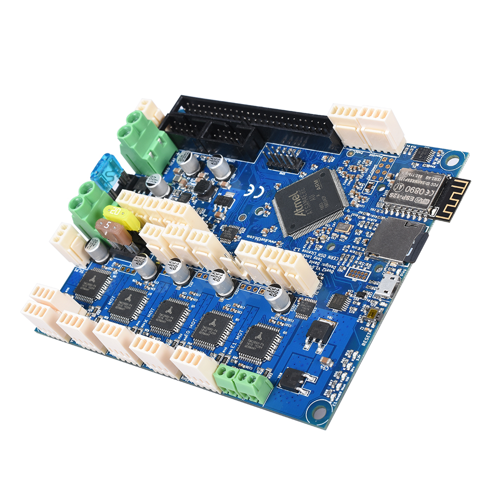 Cloned Duet 2 Wifi V1.04 Upgrades Controller Board Cloned DuetWifi Advanced 32 bit Motherboard For 3D Printer CNC Machine-in 3D Printer Parts & Accessories from Computer & Office    3