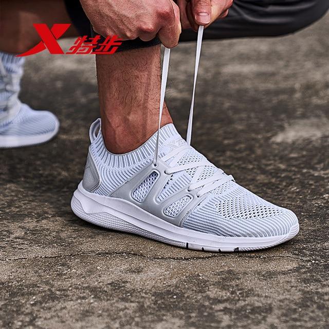 982219119577 XTEP Горячая Акция спортивные дышащие кроссовки сетки Спортивное свет для мужчин's Мужская обувь для бега
