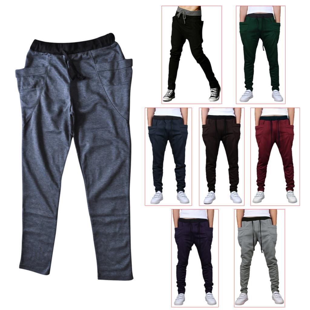 EAS Mens Harem Pants Sweatpants