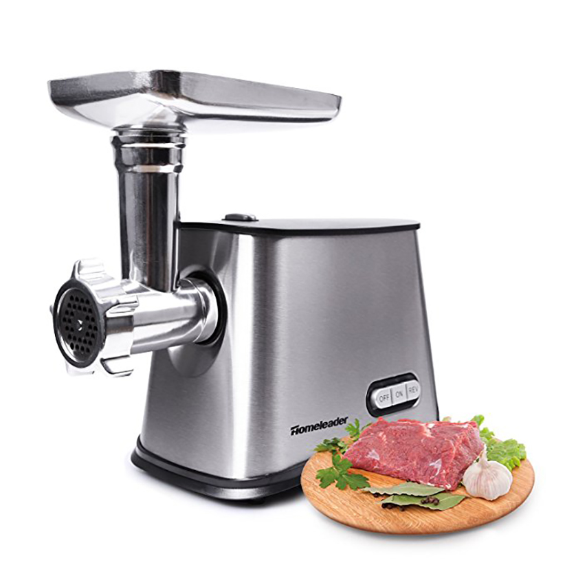 Homeleader Stainless Steel Home Electric Mini Meat Grinder Sausage Stuffer Mincer Food Chopper Meat Household Moedor De Carne la carne