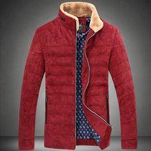Plus Size 3XL-5XL 6XL 7XL Man Parka Fashion Style New TOP Spring Winter Corduroy Down Jacket Warm 90% White Duck Down Coat