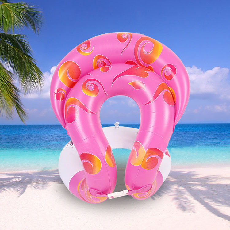 Summer Baby Accessories Kid inflatable ring Thick Swan Swim Float Fun Toys Swim Ring Seat Boat Children Adult Water Swim Pool