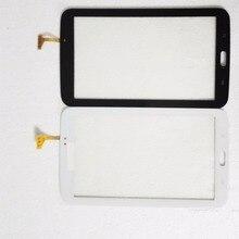Для Samsung Galaxy TAB 3 SM-T211 7.0 Сенсорным Экраном Дигитайзер Стеклянная Панель Запасные Части бесплатная доставка