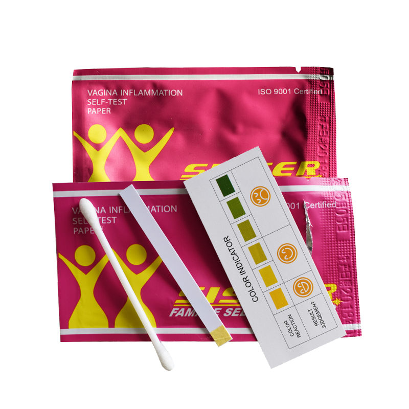 Female self-test card tampons (13)