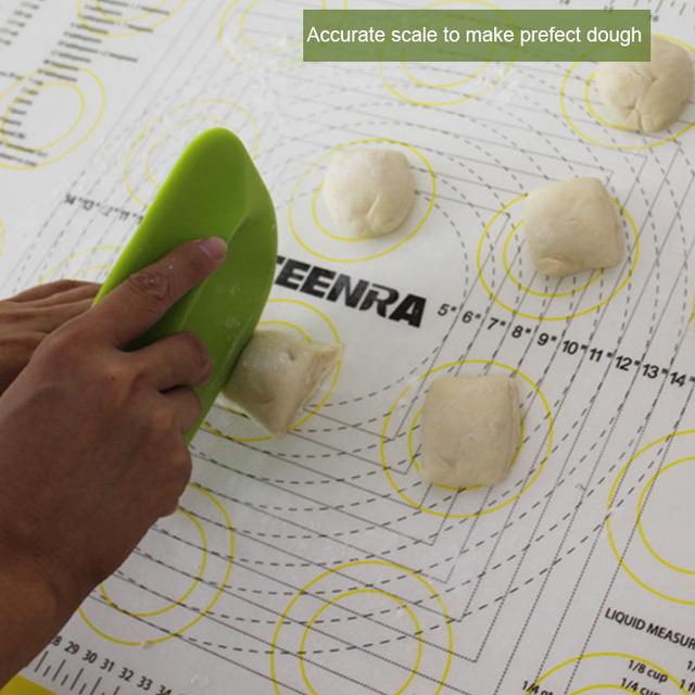 Non Stick Silicone Rolling Dough Mat – 66 x 46 cm