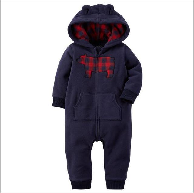 Высокое качество ropa bebe мальчик детская одежда девушка одежда лето unisex детская одежда устанавливает Мультфильм кролик Ребенка Ползунки