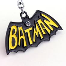 The Avengers Batman Pendant Keychain