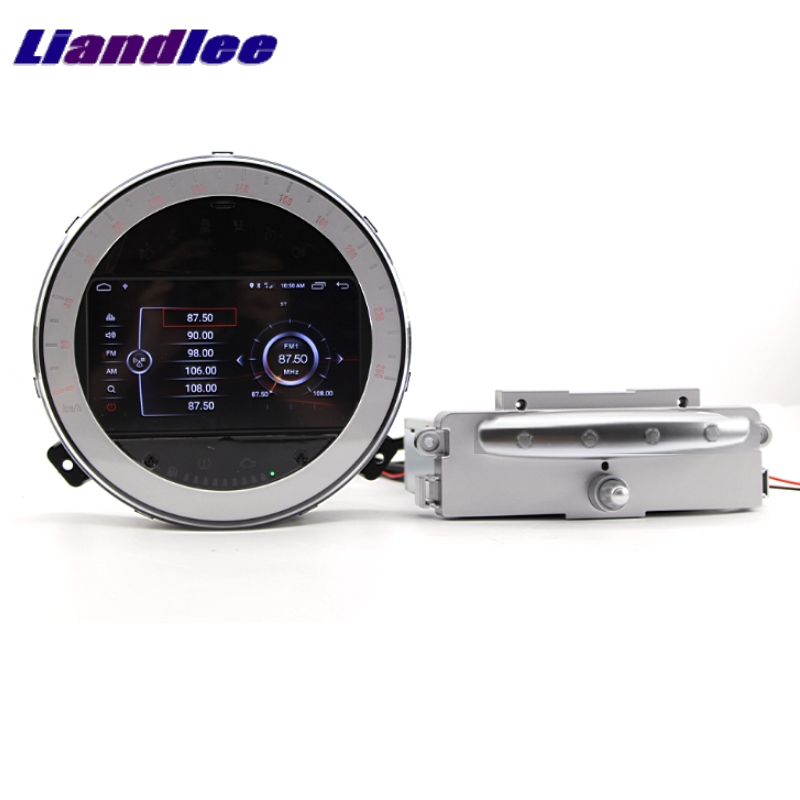 Top Liandlee Car Multimedia No DVD Player NAVI For Mini Clubman R55 2007~2014 Android system Car Radio Stereo GPS Map Navigation 10