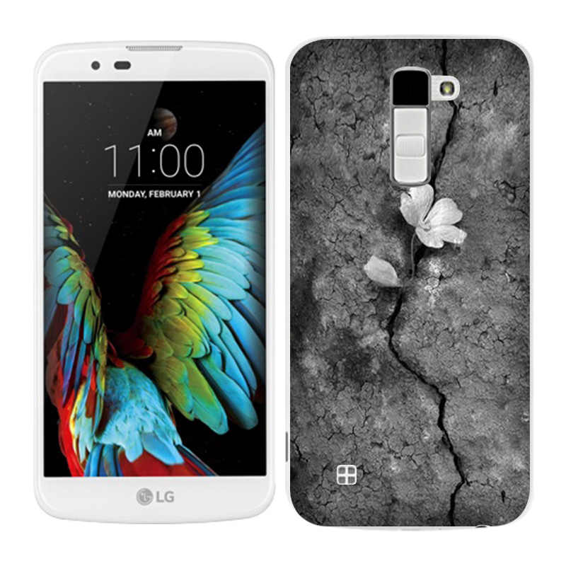 LG K10 מקרי Blaze צבוע טלפון חזרה Fundas כיסוי סיליקון עבור K10 Lte K 10 M2 K410 K420N k430DS F670 Coque