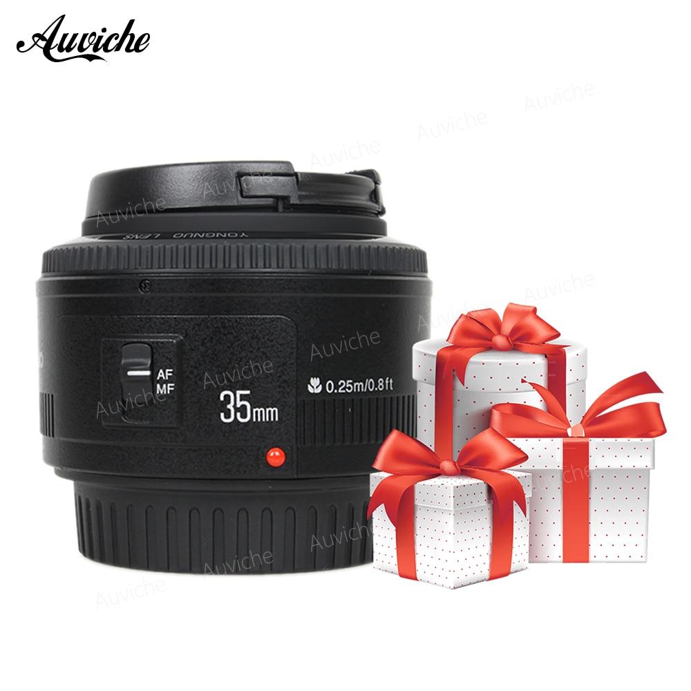 YONGNUO YN 35mm F2 Objectif Grand-Angle Fixe/Premier Auto Focus Lens Pour Canon EOS 60D 70D 5D2 5D3 7D2 750D 650D 6D DSLR