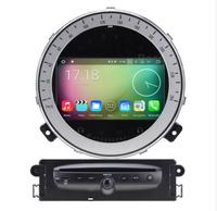 KUNFINE Android 7.1 Quad Core 2GB Car DVD GPS Navigation Player Car Stereo for BMW Mini Cooper 2006 2013 Radio Headunit WIFI