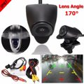 CCD Car Rear Front View Camera Lens Waterproof 170 Degree Wide Lens Angle Logo Embedded For Toyota
