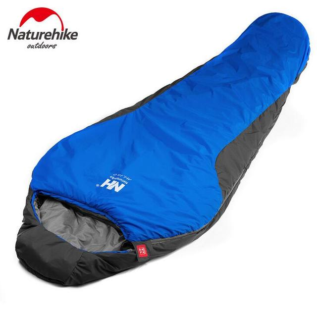 Naturehike 22083cm Portable Multifuntional Ultralight Mini Nylon Mummy Shape Outdoor Camping Travel Hiking Sleeping