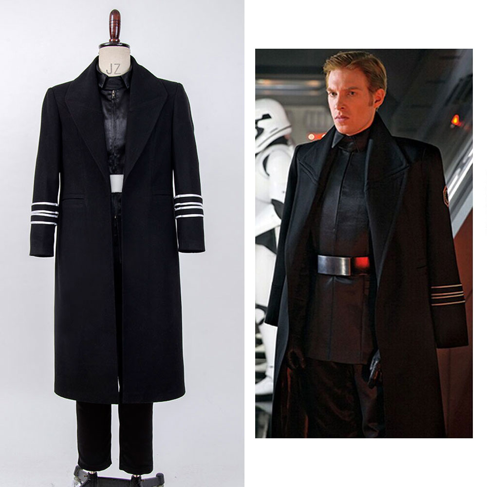 Star Wars VII: The Force Awakens General Hux Cosplay Costume For Men Christmas Full Set